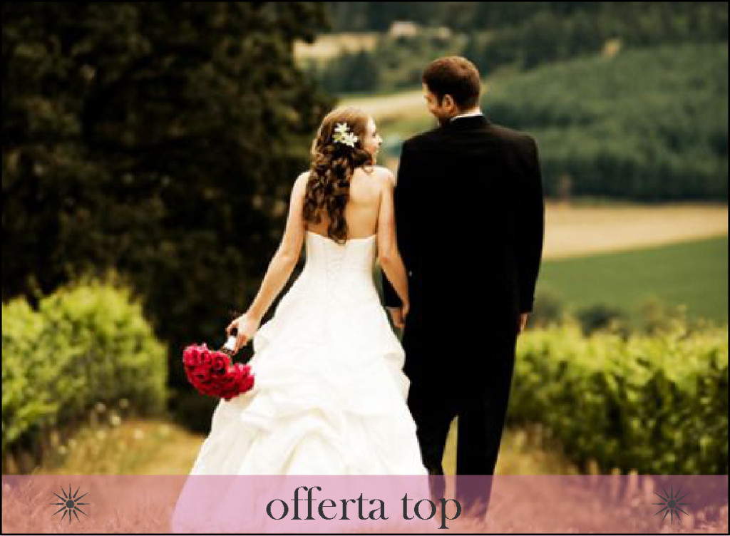 matrimonio in campagna offerta top